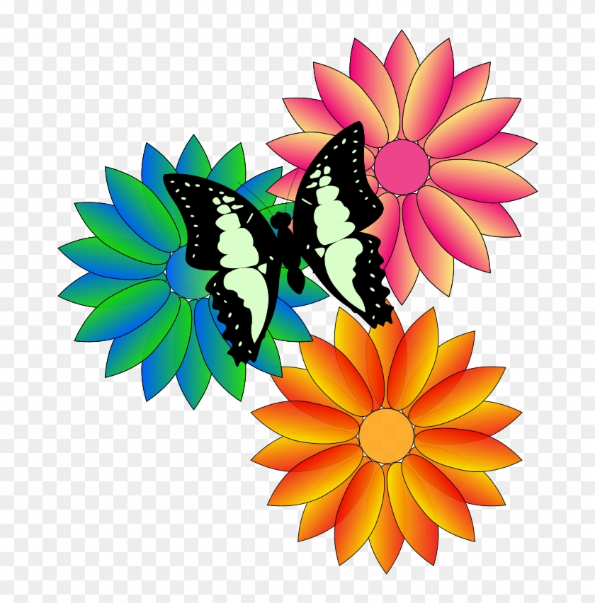2 22902 free butterfly and flowers animated flowers and butterflies.png