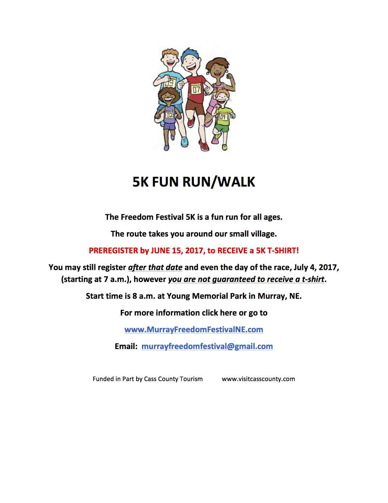 2017 5K FUN RUN FLIER