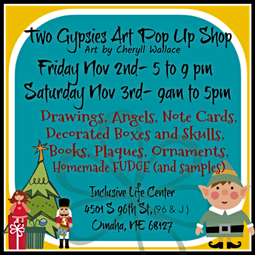2018 10 31 TWO GYPSIES Art Fair Nov 2018 1