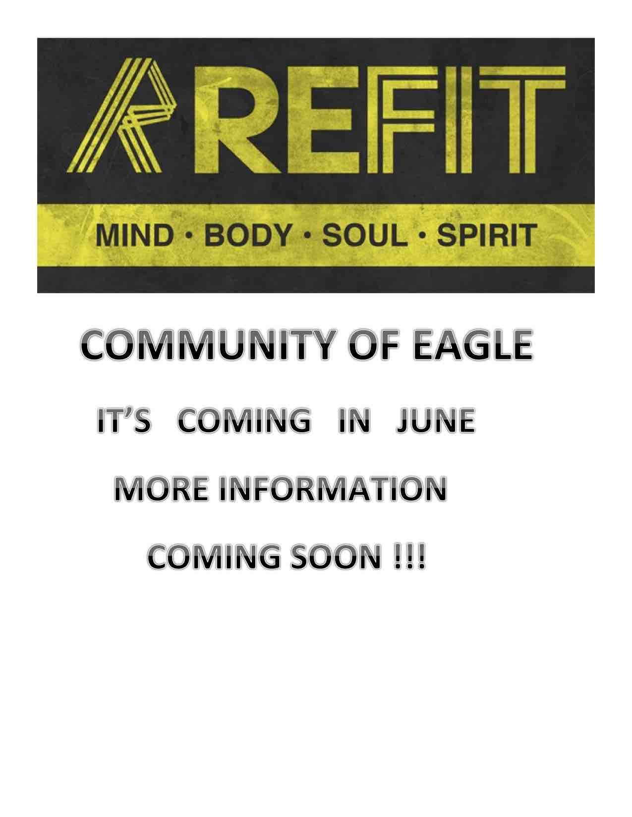 COMMUNITY OF EAGLE REFIT notice