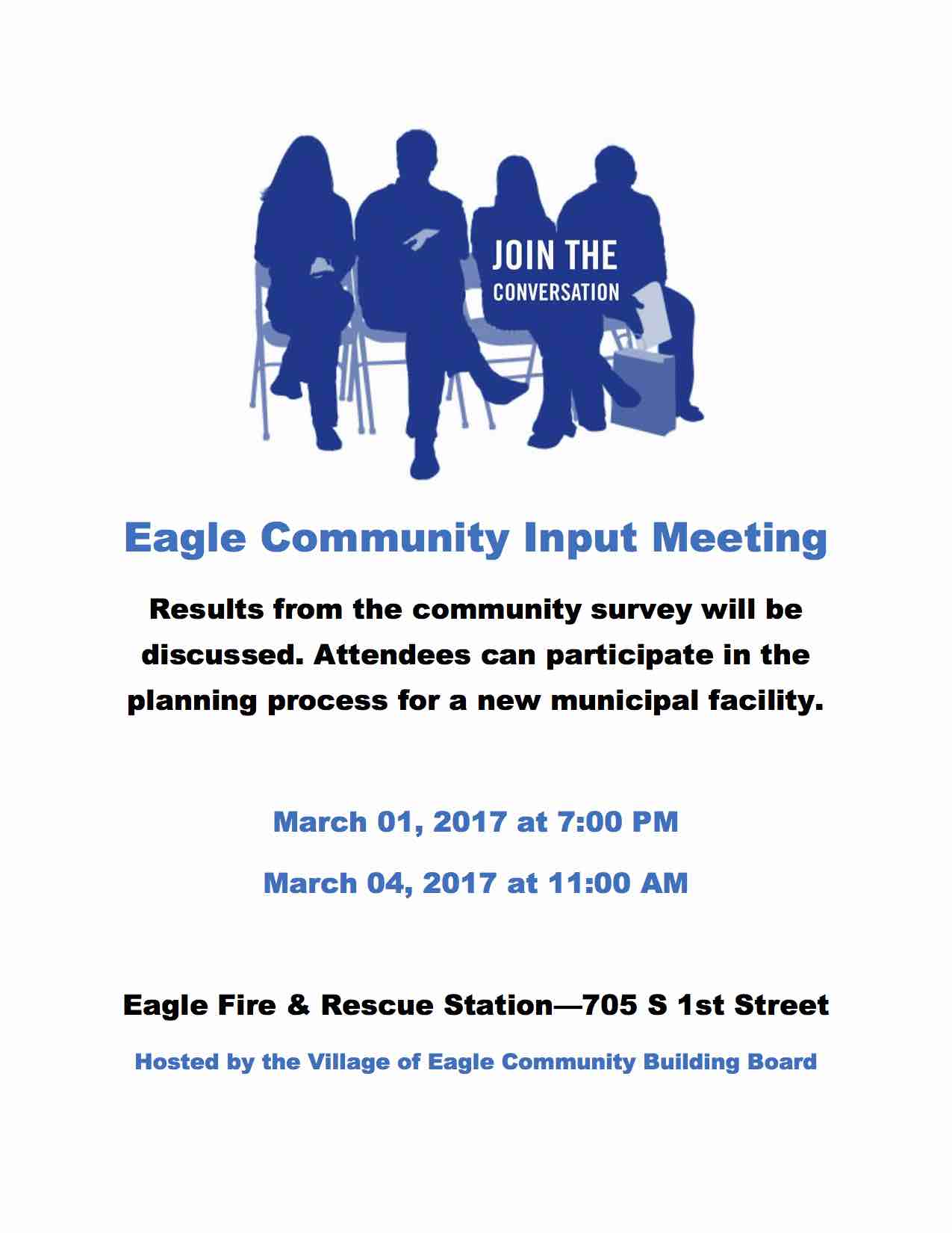 Eagle Community Input Meeting