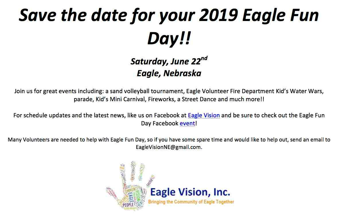 Eagle Fun Day 2019
