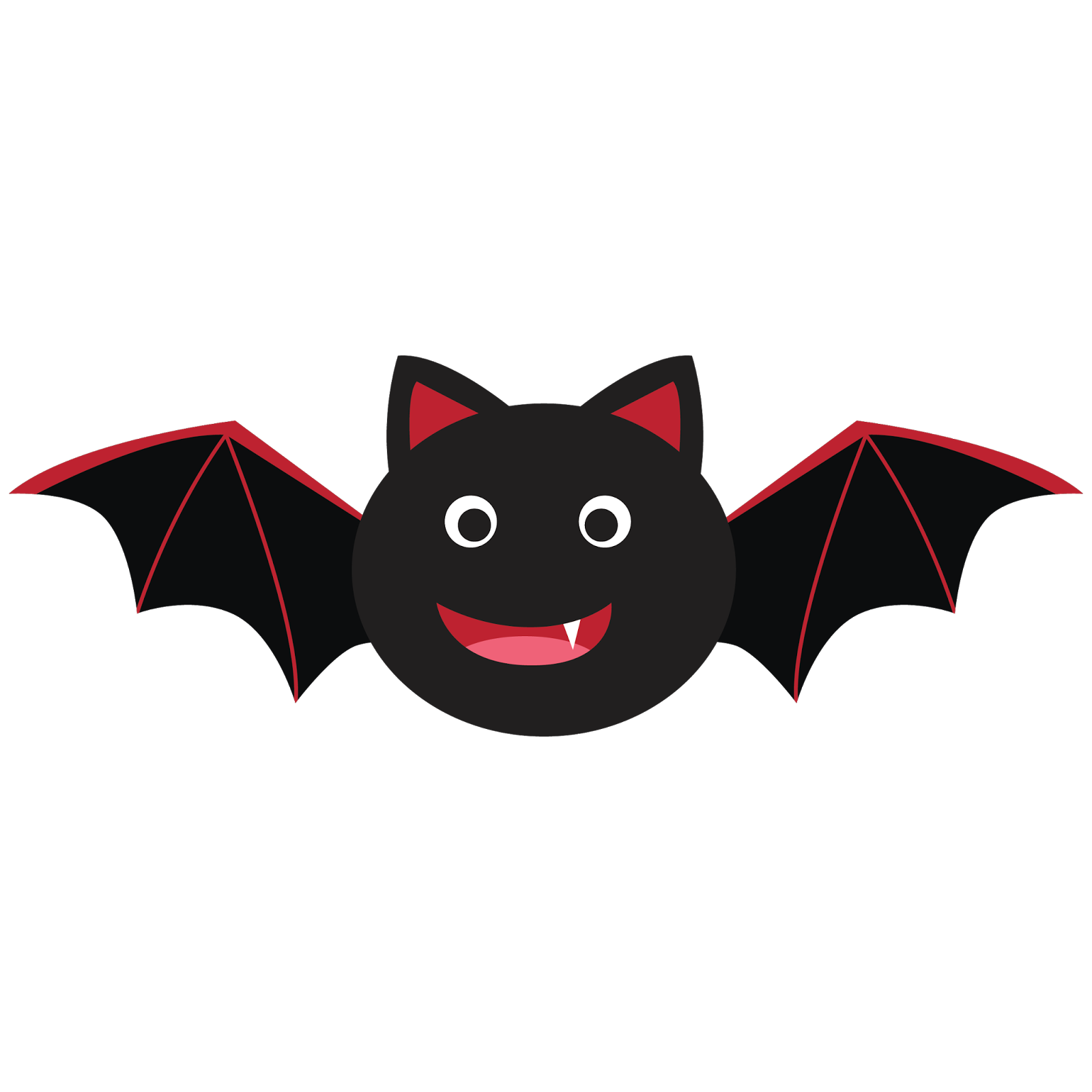 Halloween Clipart Bat by Little Apples Design