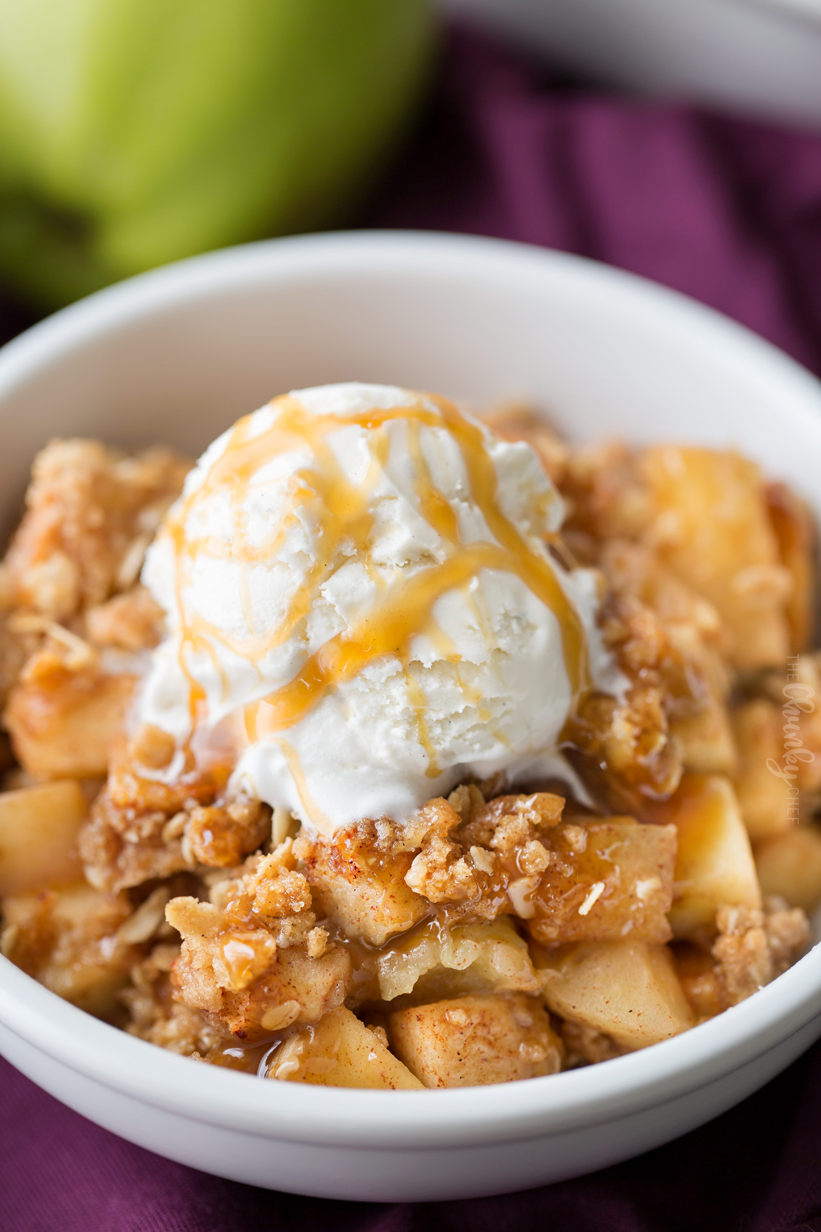 Old Fashioned Easy Apple Crisp 8