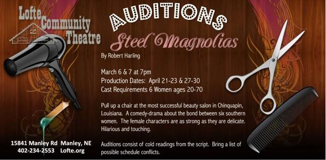 Steel Magnolias Audition