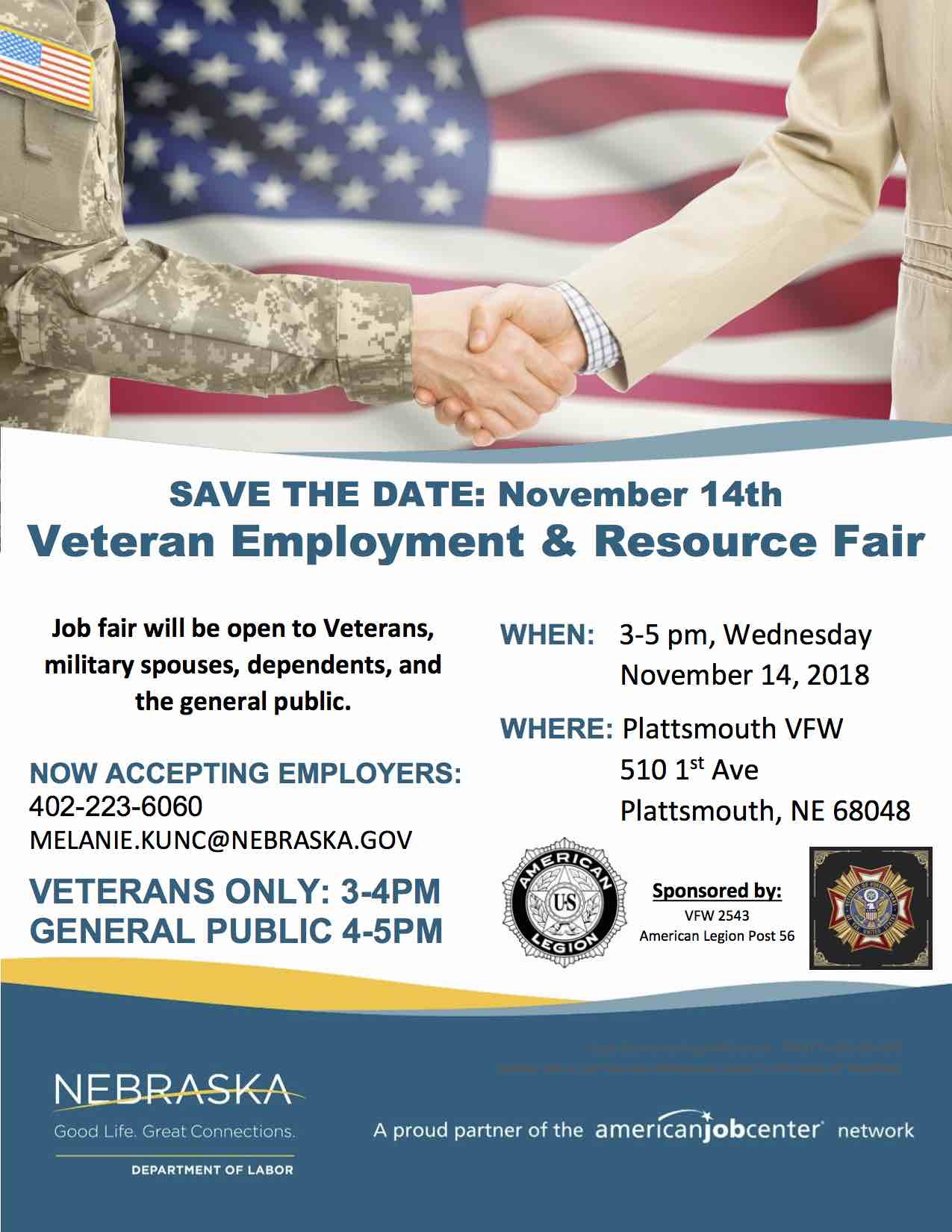 Veteran Job Fair Save the Date