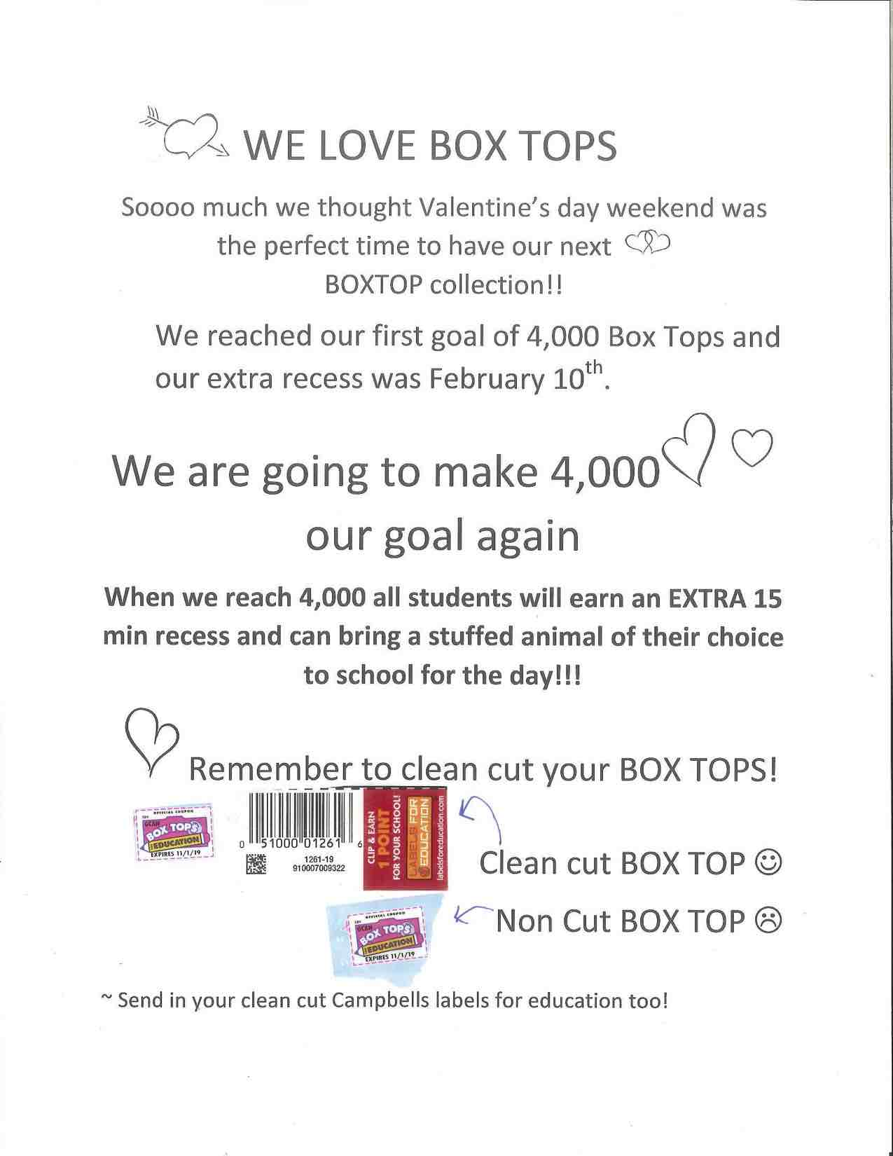 box tops Valentines 2017