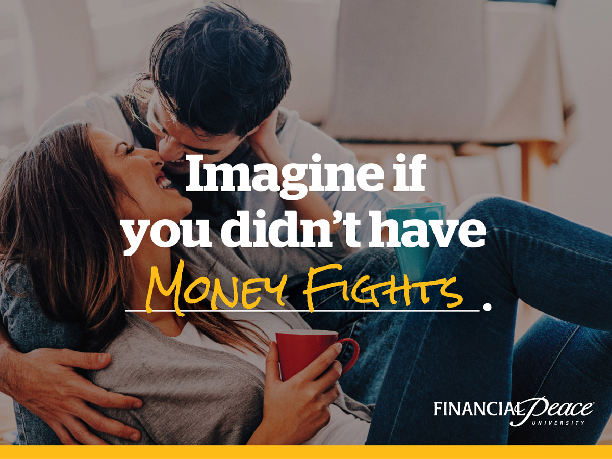 financial peace social imagine if you didnt have money fights