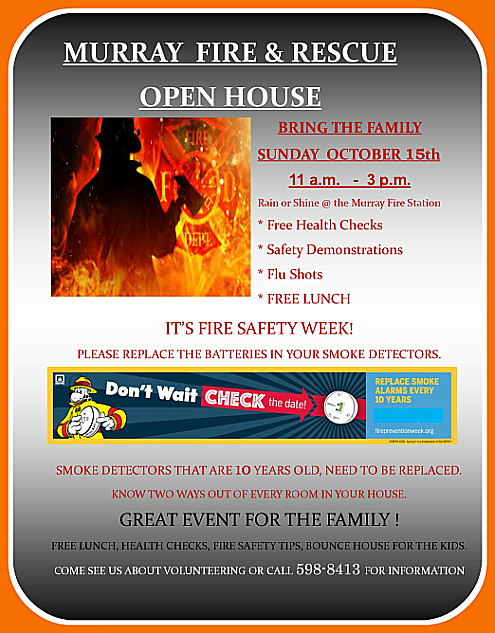 2017 10 11 MUR FIRE OPEN HOUSE