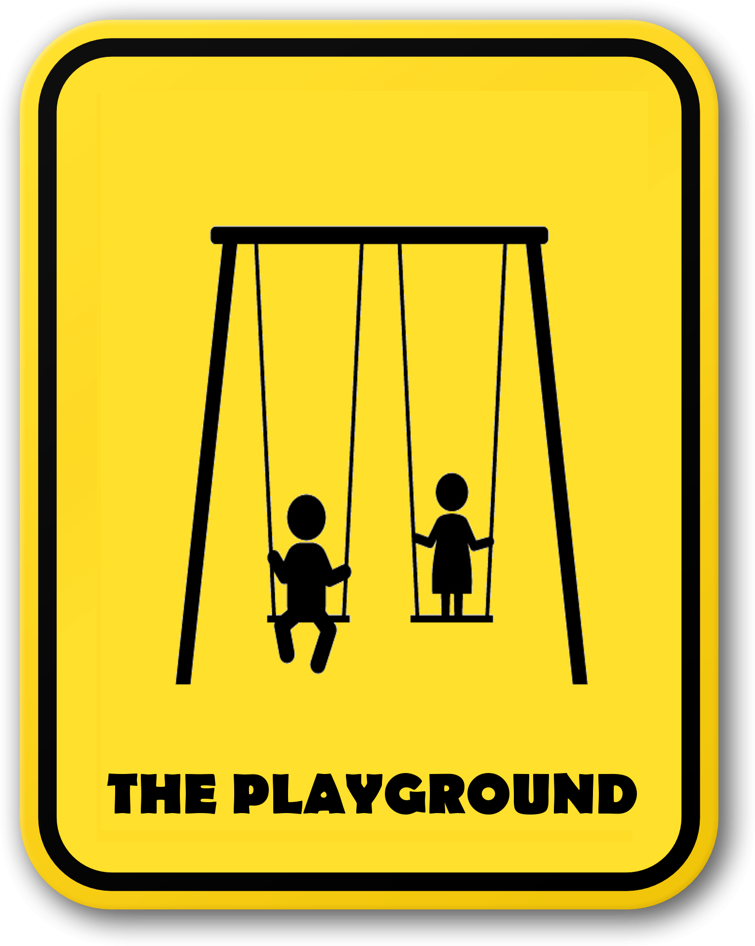 THE PLAYGROUND SIGN