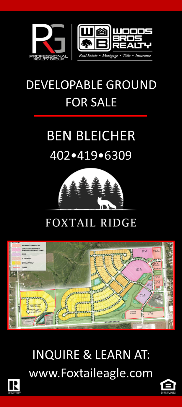 Commercial  Residential Lots Available